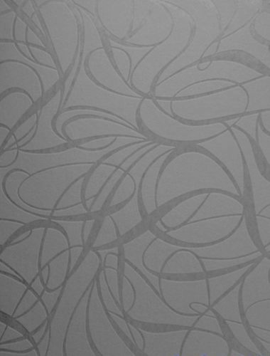 Wallpaper non-woven retro 1320-17 dark grey black