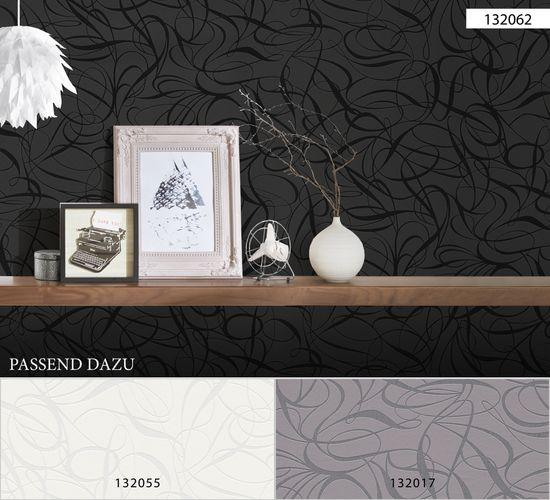 Wallpaper non-woven retro 1320-62 black metallic online kaufen
