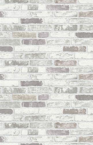 Wallpaper stones grey Erismann Brix 6703-10 online kaufen