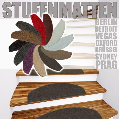 15er Set Stufenmatte Treppenstufe 13 Farben 24x65 cm online kaufen