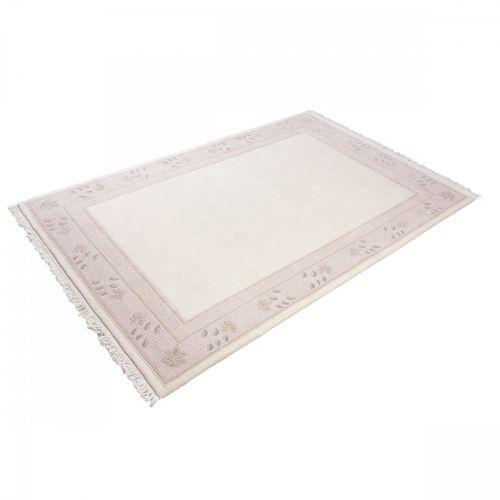 Handgeknüpfter Original Tibet Nepal Teppich Classica 295 170x236 cm creme online kaufen
