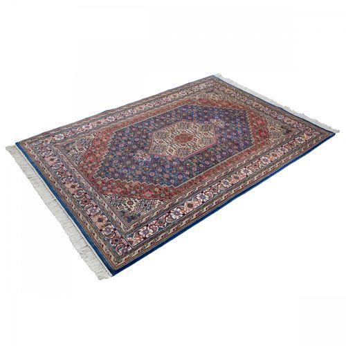 Handgeknüpfter Teppich Bidjar Orientteppich 9 45 168x239 cm blau online kaufen
