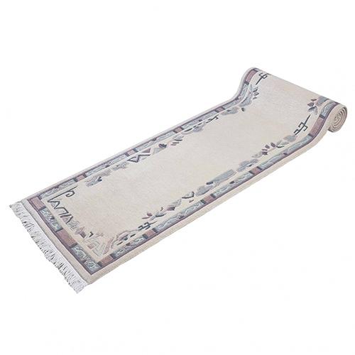 Handgeknüpfter Original Tibet Nepal Teppich 73x336 cm beige online kaufen