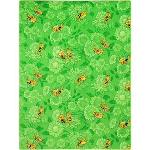 Kinderteppich Biene Maja Willi Teppich Farbe grün 80x150 cm online kaufen