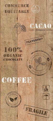 Pop Up Panel 35x250cm selbstklebend Cacaokiste braun online kaufen