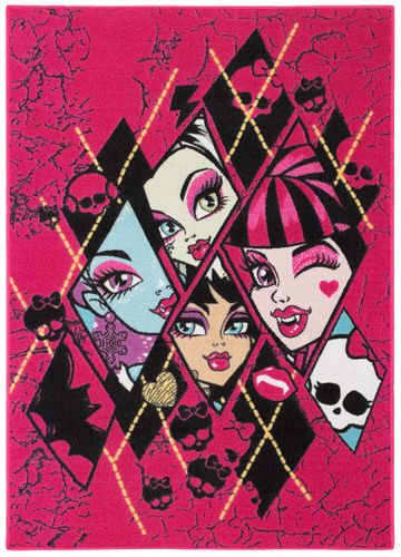 Kids Carpet Monster High black purple 95x133 online kaufen