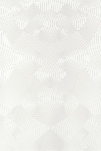 Glööckler wallpaper geometric white gloss 54463 buy online