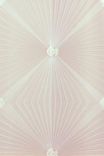 Glööckler wallpaper diamonds beige gloss 54404