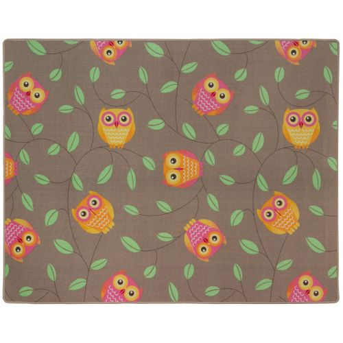 Happy Owls Carpet Kids Rug 133 x 170 cm beige online kaufen