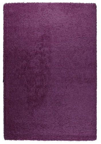 Teppich Basic Trendy Shaggy 5 Größen violett