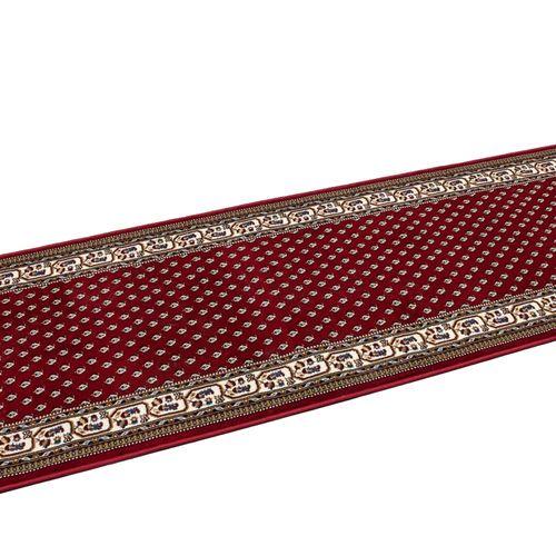 Carpet Runner Hallway Rug Excellent red 80cm Width online kaufen
