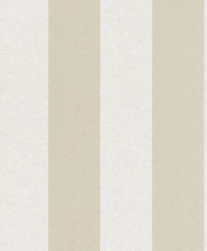 Wallpaper Non-Woven Block-Striped Glitter cream white 361765 online kaufen
