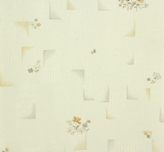 OK 6 Tapete AS Creation 95412-2 954122 Blumen Design weiß apricot