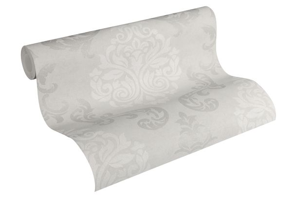 Tapete Vlies Ornamente Glitzer taupe AS Creation 95372-1