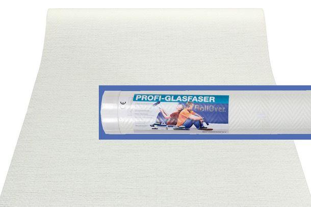 Tapete Glasfaser 25m² ÖKO-Tex Glasfasertapete 3358-01 Gewebe Fischgrät online kaufen