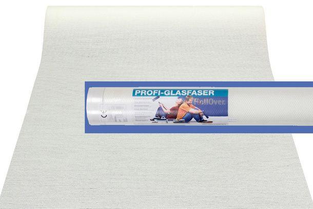 Tapete Glasfaser 25m² ÖKO-Tex Glasfasertapete 3355-01 Leinwandbindung online kaufen