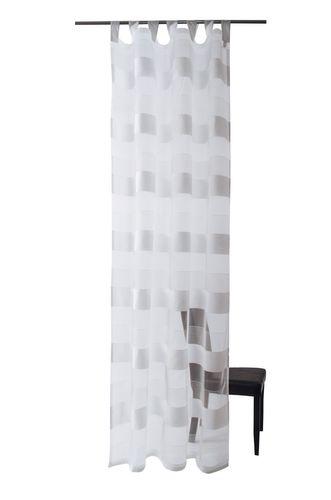 Deventer Schlaufenschal Öko-Tex Vorhang 140 x 245 halbtransparent 5617-11 weiß online kaufen