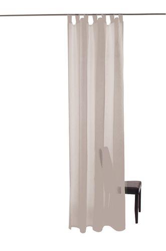 Barletta Schlaufenschal Öko-Tex Vorhang 140 x 245 transparent 5502-03 weiß online kaufen