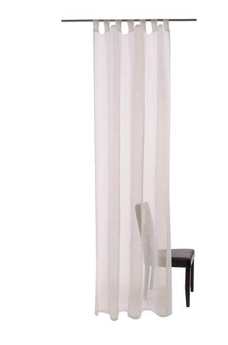 Barletta Schlaufenschal Öko-Tex 140 x 245 transparent 5502-41 creme natur online kaufen