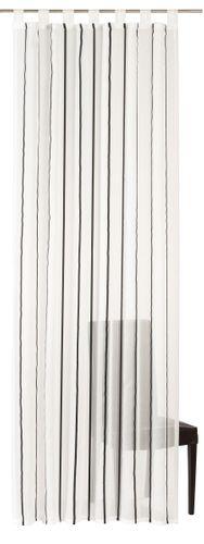 Elbersdrucke Bits And Bytes 08 Schlaufenschal transparenter Vorhang Streifen online kaufen