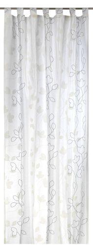 Elbersdrucke Floral Beauty 09 Schlaufenschal blickdichter Vorhang natur online kaufen
