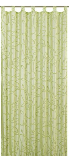 Loop curtain Free non-transparent green 172336 online kaufen
