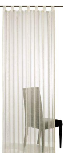 Elbersdrucke Casa 09 Schlaufenschal transparenter Vorhang beige online kaufen