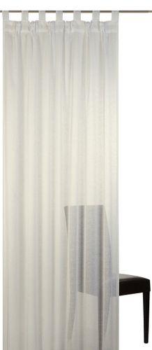 Elbersdrucke Effecto 09 Schlaufenschal halbtransparenter Vorhang creme online kaufen