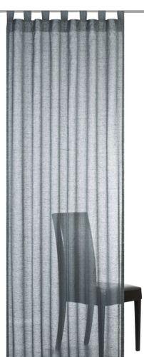 Elbersdrucke Effecto 17 Schlaufenschal halbtransparenter Vorhang anthrazit online kaufen