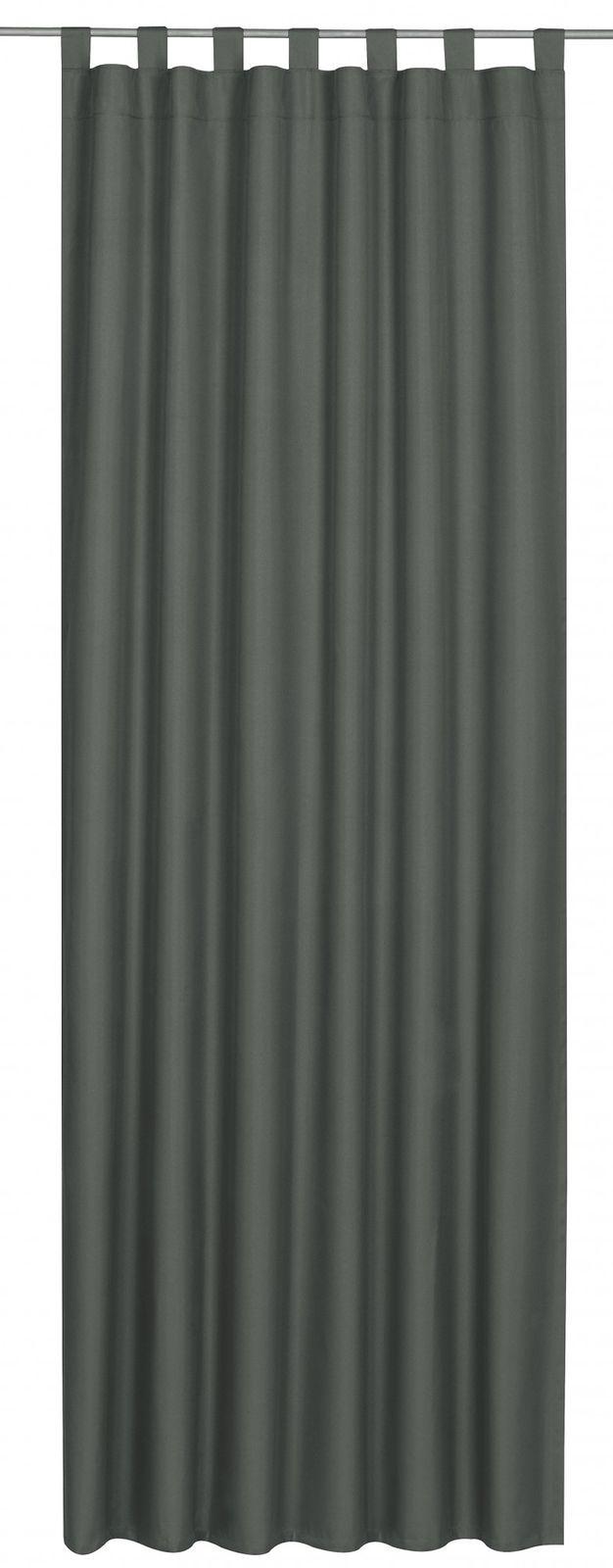 schlaufenschal twilight verdunklungsstoff grau 194123. Black Bedroom Furniture Sets. Home Design Ideas