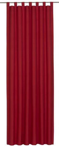 Schlaufenschal Twilight Verdunklungsstoff rot 194093 online kaufen