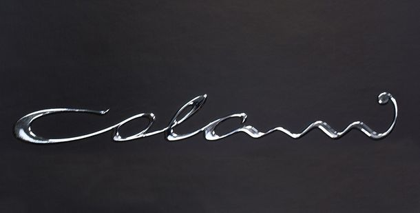 Colani Dekoelement Marburg Schriftzug silber 76969 online kaufen
