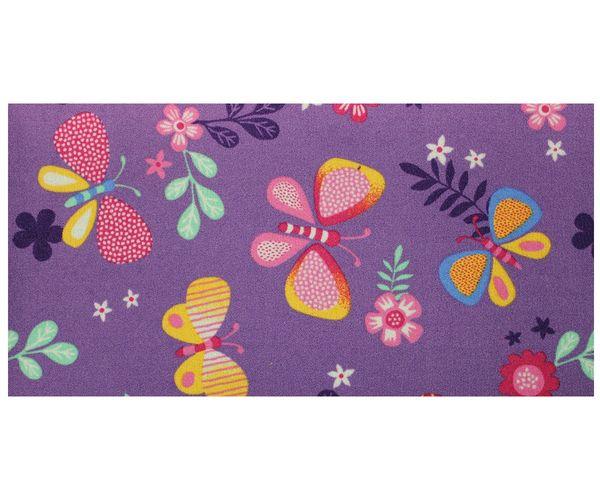 Kinderteppich Schmetterling Teppich Papillon Butterfly Spielteppich in 2 Farben  online kaufen