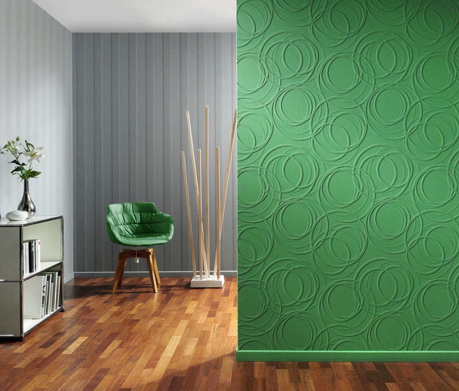 vlies tapete berstreichbar kringel rasch 342208. Black Bedroom Furniture Sets. Home Design Ideas