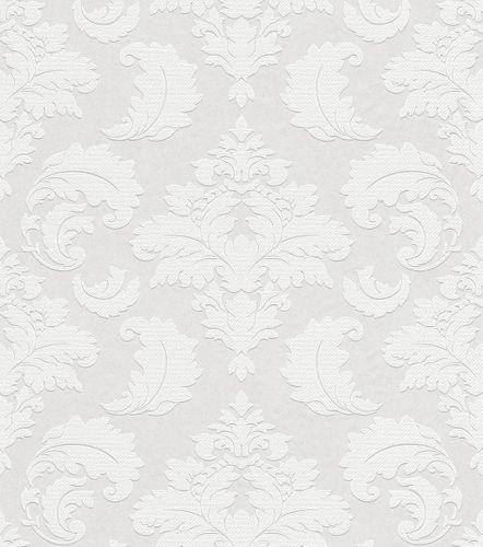 Paintable Wallpaper baroque ornament style Rasch 178906 online kaufen