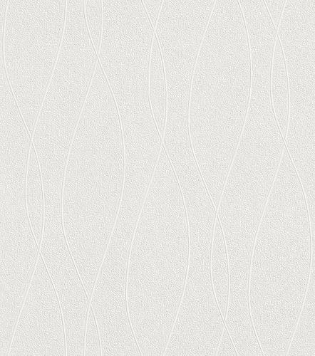 Paintable Wallpaper retro lines style Rasch 142501 online kaufen