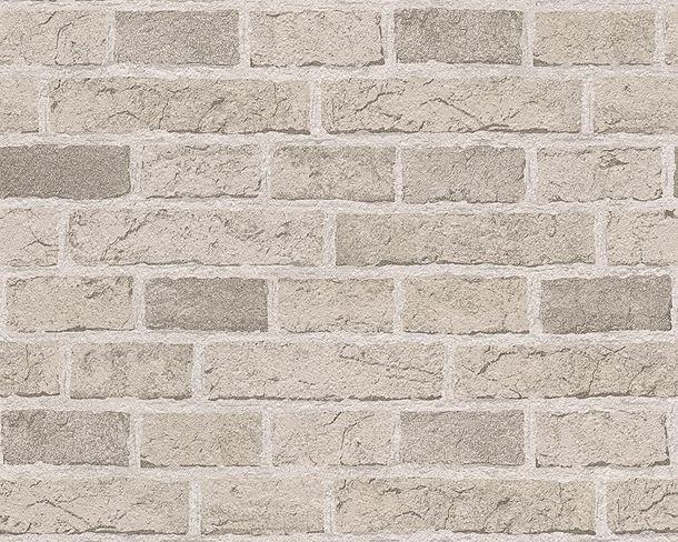 Tapete Mauer Backstein grau 7798-30 online kaufen