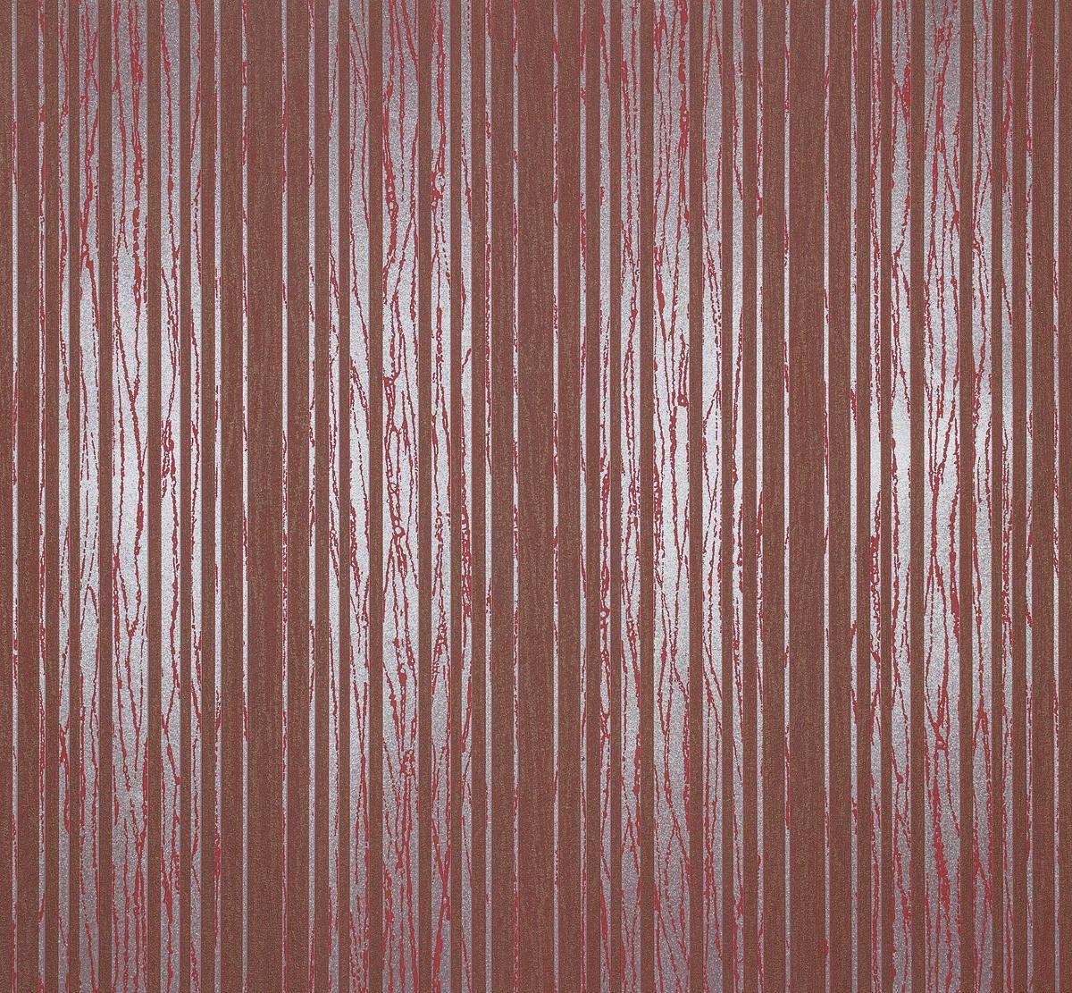 vliestapete streifen rot silber metallic tapete marburg. Black Bedroom Furniture Sets. Home Design Ideas