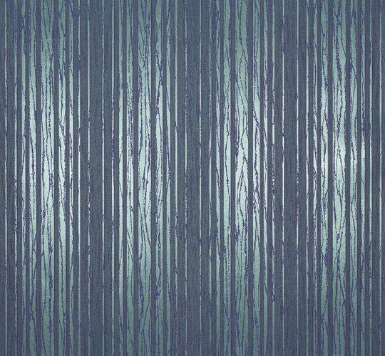 Vliestapete Streifen blau türkis metallic Tapete Marburg Estelle 55720 online kaufen