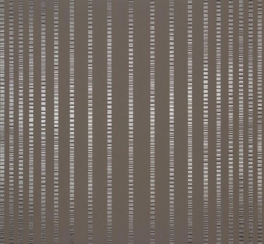 Vliestapete Streifen grau silber Tapete Marburg Estelle 55733