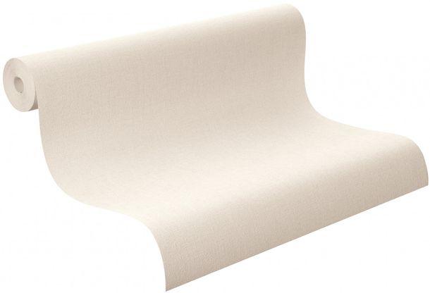 Tapete Vlies Uni Struktur creme Rasch Florentine 448641 online kaufen