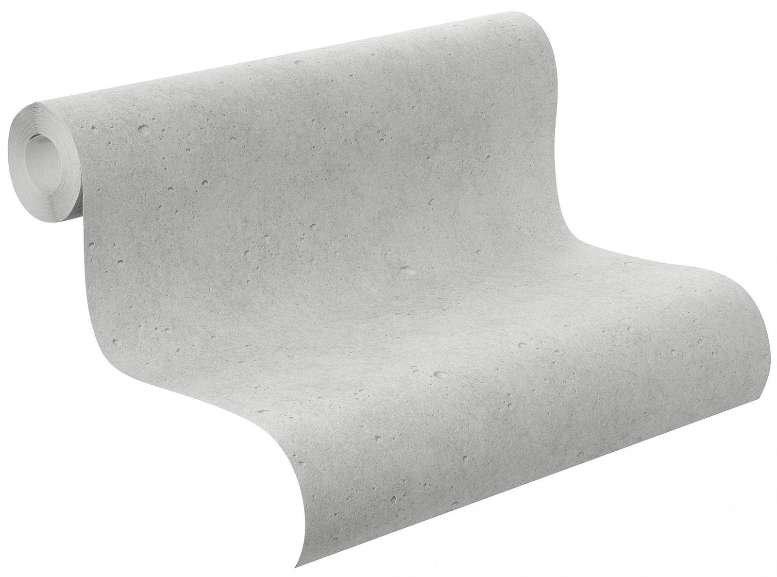Vliestapete Beton Beton Optik Stein Rasch Grau 475210