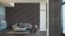 Raumansicht Vliestapete livingwalls New England 2 Uni Design anthrazit 96223-1 4