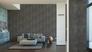 Room View non-woven wallpaper plain design dark grey wallpaper livingwalls New England 2 96223-2 4