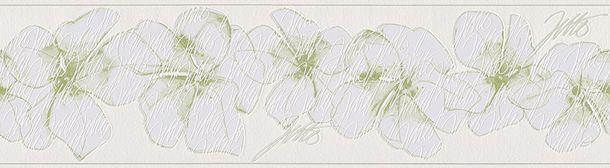 Vliesborte Floral cremeweiß grün Bordüren  livingwalls Jette Joop 3 95991-2 online kaufen