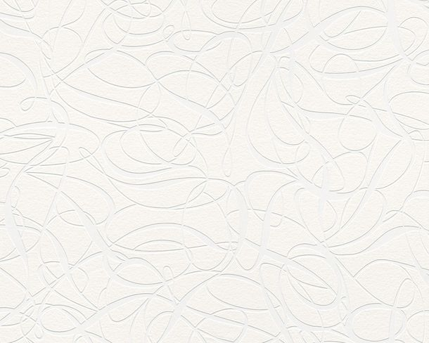 Wallpaper non-woven paintable design white 2426-17 online kaufen