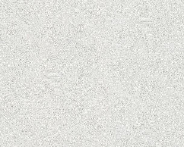 Wallpaper non-woven paintable texture white 1036-11