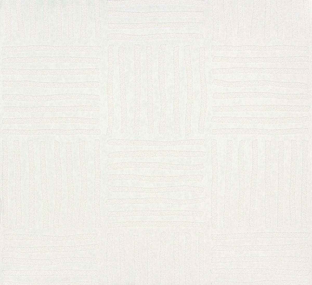 vliestapete berstreichbar streifen wei patent decor 3d 9464. Black Bedroom Furniture Sets. Home Design Ideas