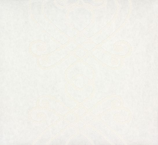 non-woven wallpaper paintable baroque design white wallpaper Patent Decor 3D Marburg 9429 online kaufen