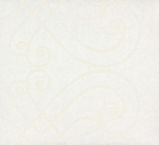 non-woven wallpaper paintable vines design white wallpaper Patent Decor 3D Marburg 9329 online kaufen